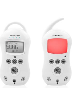 Topcom Dijital Sesli Bebek Telsizi LCD Ekran 300 m çekim