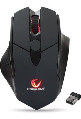 Rampage SMX-R12 Hawker Siyah 4800Dpi Oyuncu Kablosuz Mouse
