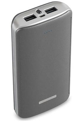 S-link IP-G156 15600mAh Powerbank Gümüş Taşınabilir Pil Şarj Cihazı