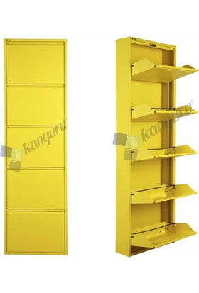 Metal Ayakkabılık Kanguru 5 Li Gold Sarı 1018