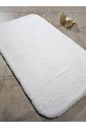 Confetti Organic Soft 2000 Banyo Halısı Gr 20mm 60x100 Beyaz