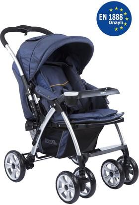 Kraft Evo İki Yönlü Bebek Arabası Lacivert
