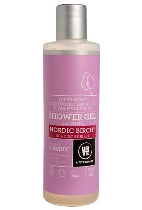 Urtekram Organik ve Vegan Ekstra Nemlendirici Duş Jeli -Kuzey Huş Ağacı (Nordic Birch) 250 ml.