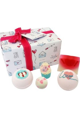 Lolabomb Jar of Hearts Hediye Paketi Sabun, Banyo Topu