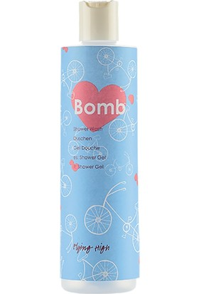 Lolabomb Flying High 300 ml Limonotu ve Bergamot Esanslı Duş Jeli