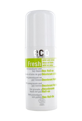 Eco Cosmetics Organik Sertifikalı Nar ve Goji Özlü Roll On Deodorant 50 ml.