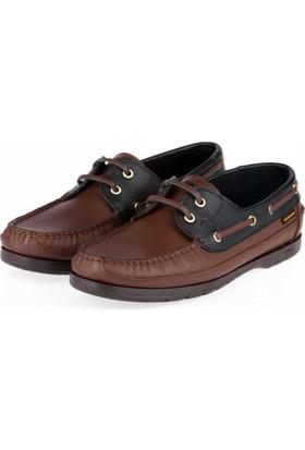 Mammamia Erkek Hakiki Deri Bağcıklı Ayakkabı