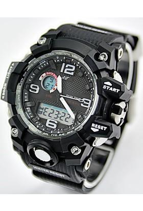 Startime Marka G-Shock Resist Model Analog Dijital STRT0033 Erkek Kol Saati