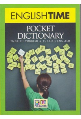 English Time Pocket Dictionary English Turkish Turkish English