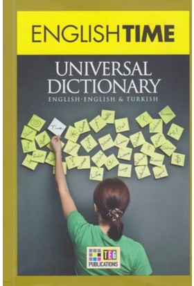 English Time Universal Dictionary English Turkish Turkish English