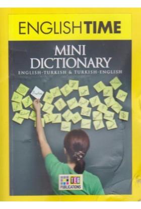 English Time Mini Dictionary English Turkish Turkish English