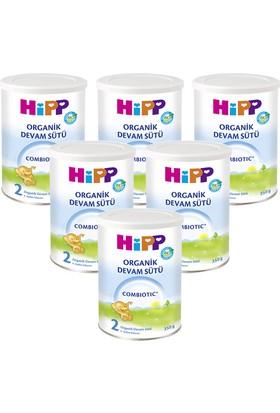 Hipp 2 Organik Combiotic Devam Sütü 350 gr - 6'lı