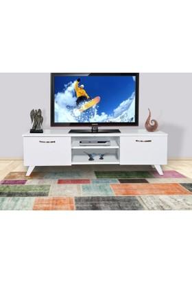 Hepsiburada Home Tv Sehpası - Tv Ünitesi Beyaz