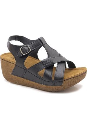 Jump Kalın Taban Ortopedik Sandalet