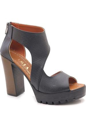 Moda Lisa H-16004 Yüksek Platform Günlük Sandalet