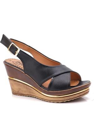 Modalisa Siyah Black Edition Sandalet