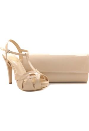 Oc 02545-03 Powder Pink High Heel Ayakkabı