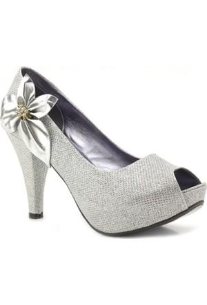Oc Studio Gümüş Platform Kadın Ayakkabı