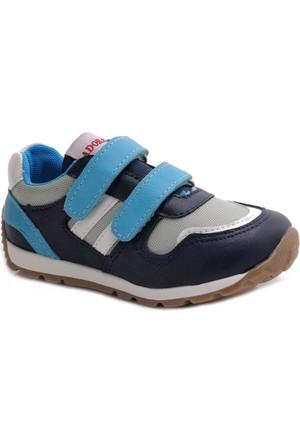 Polaris Mavi Lacivert Erkek Çocuk Ayakkabı