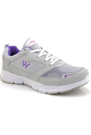 Prowolf Kadın Lila Gri Koşu Ayakkabı
