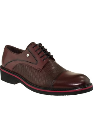 Fosco 6051 Bağlı Casual Bordo Erkek Ayakkabı