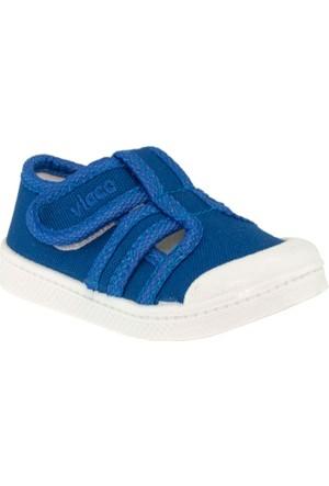 Vicco 205.U.235 Keten Çocuk Mavi Çocuk Ayakkabı
