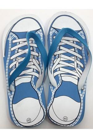 Hobi Store Converse Model Mavi Parmak Arası Terlik