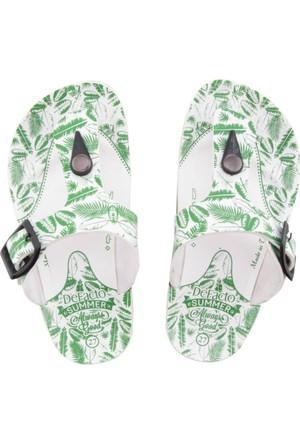 DeFacto Erkek Çocuk Parmak Arası Terlik Yeşil