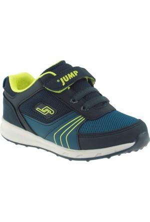 Jump 15668 Yeşil Çocuk Spor Ayakkabı