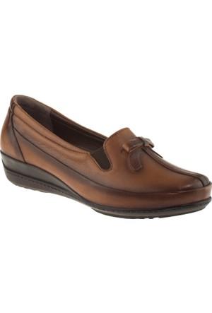 Banner-gülhan 113 Fiyonklu Taba Kadın Ayakkabı