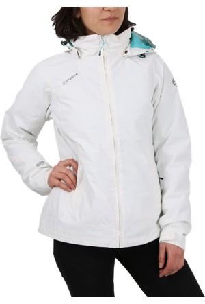 Icepeak Beyaz Kadın Outdoor Montu 53182 620 010