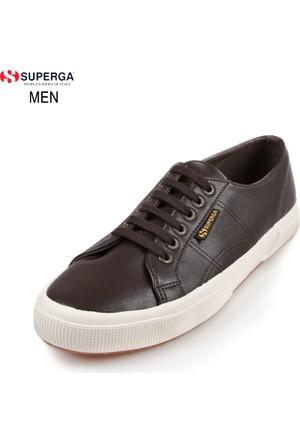 Superga Erkek Ayakkabı Kahverengi 2750-MICROFIBERPUU