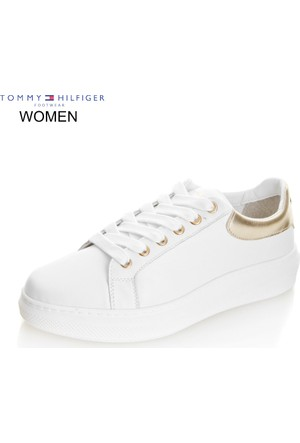 Tommy Hilfiger Kadın Sneaker Beyaz FW0FW00889