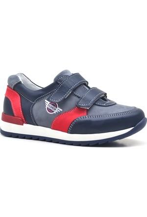Hakiki Deri Cırtlı Erkek Çocuk Spor Ayakkabı