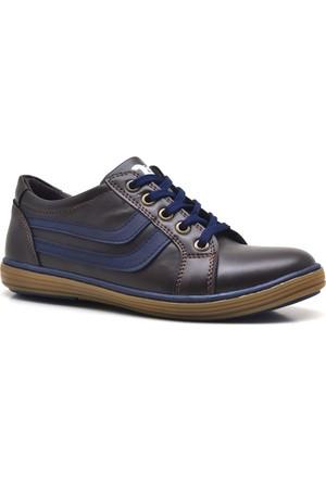 Olgars Fermuarlı Bağcıklı Erkek Çocuk Spor Ayakkabı