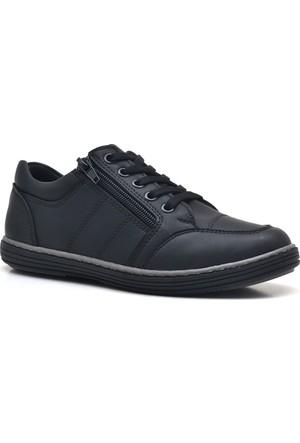 Olgars Siyah Erkek Çocuk Spor Ayakkabı