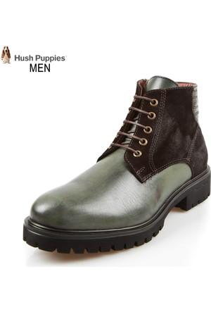 Hush Puppies 031M101573 Tades Boot Olive Deri Süet Bot