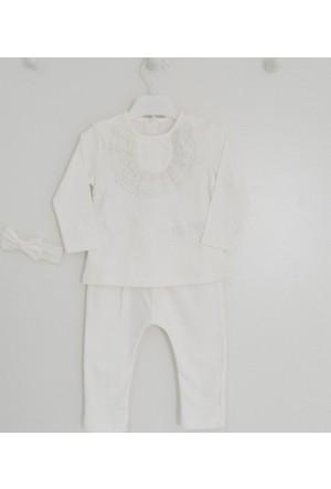 İdil Baby 8354 3'lü Kız Bebek Mevlüt Takımı