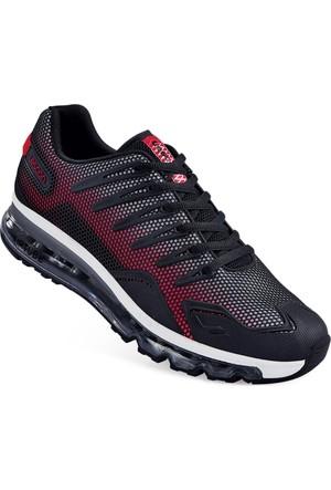 Lescon L-4509 Kırmızı Siyah Airtube Ayakkabı 40-45