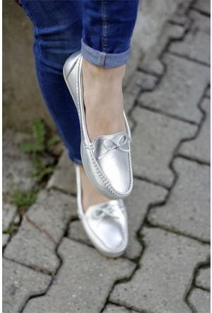 İnce Topuk Loafer Ayakkabı 7YAZA0058367