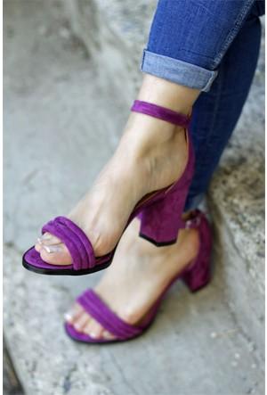 İnce Topuk Topuklu Ayakkabı 7YAZA0062662