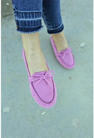 İnce Topuk Loafer Ayakkabı 7YAZA0072715