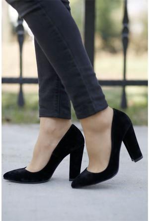 İnce Topuk Kalın Topuklu Stiletto 7YAZA0093416