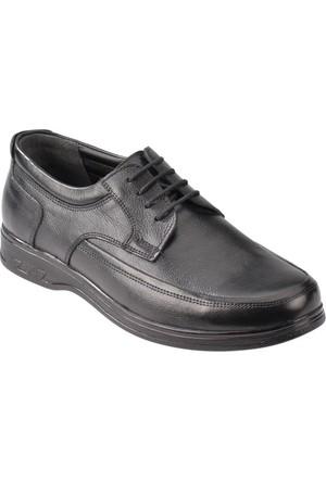 Flexall 1 M 1493 Siyah Erkek Deri Klasik Ayakkabı