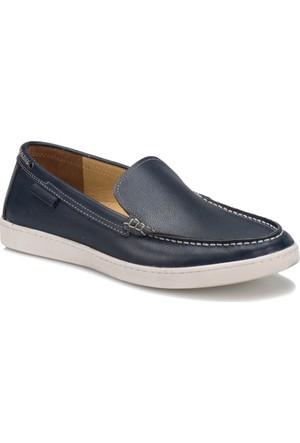 Flogart 174 M 1492 Lacivert Erkek Deri Modern Ayakkabı