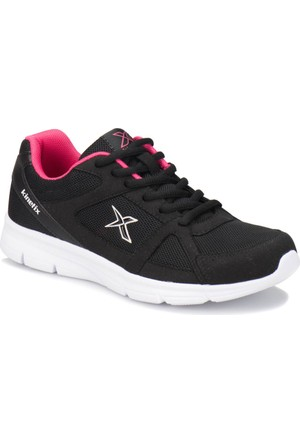 Kinetix Kalen Tx W Siyah Koyu Pembe Beyaz Kadın Koşu Ayakkabısı