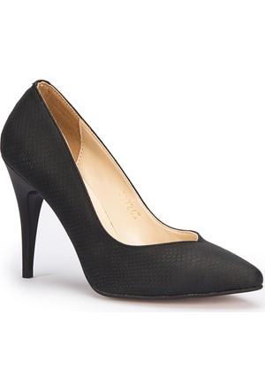 Polaris 71.307263Mz Siyah Kadın Ayakkabı