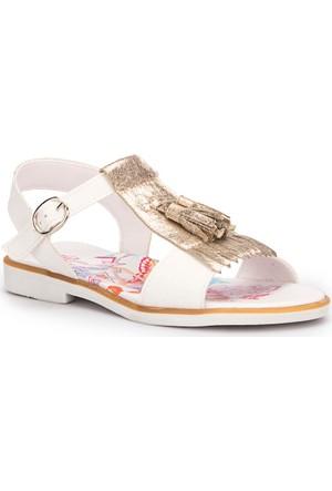 Winx Mool Altın Kız Çocuk Sandalet