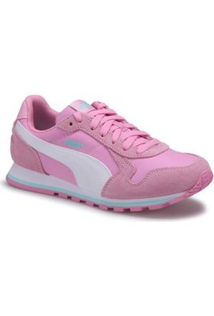 Puma St Runner Nl Jr Pembe Beyaz Kız Çocuk Sneaker Ayakkabı