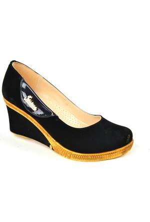 Byn Ayışıgı Zn Dolgu Topuk Bayan Ayakkabı